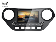 4UI intereface combined in one system hd CAR DVD PLAYER gps navi for HYUNDAI I10 2013 2014 2015 Steering Wheel Control gps TV BT