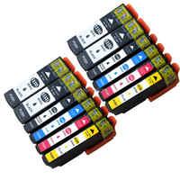 Совместимость для Epson 33XL чернильные картриджи 2 комплекта + 2 черного цвета с Epson XP-530 XP-830 XP-630 XP-645 XP-900 XP-635 XP-540 XP-640