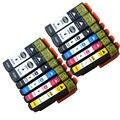 12 multi-pack t3357 t33xl cartuchos de tinta compatíveis para impressoras epson expression xp-635 t3357 t3351 t3361 t3362 t3363 t3364