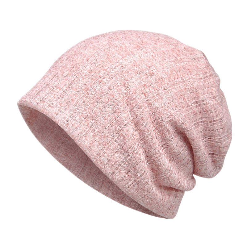 Spring Autumn Thin Breathable Men Women Knitted Caps Summer Bonnet Hat Solid Color   Skullies     Beanies   Multifunction Hedging Cap