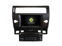 Android 5 1 CAR Audio DVD Player Gps FOR CITROEN C4 2004 2012 Multimedia Navigation Head