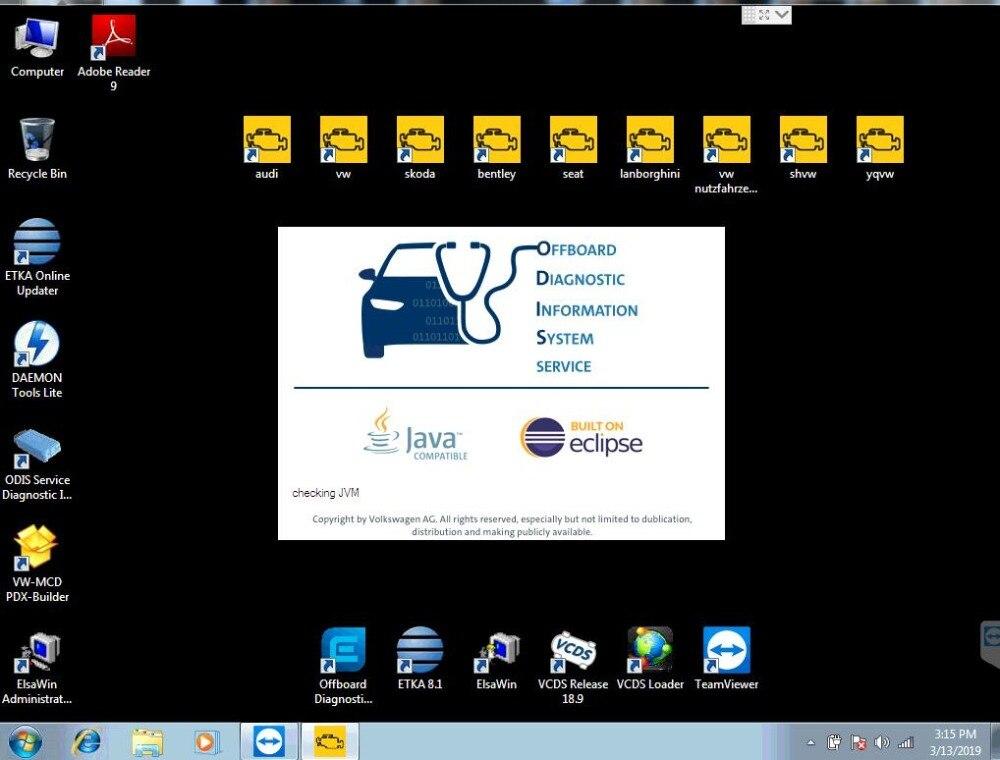 Vas 5054A Odis 5.13 Software with Engineer 9.04 ETKA 8 and Elsawin 6.0 VASPC 19.01 VAG ODIS 5.13 Support online login DHL FreeVas 5054A Odis 5.13 Software with Engineer 9.04 ETKA 8 and Elsawin 6.0 VASPC 19.01 VAG ODIS 5.13 Support online login DHL Free