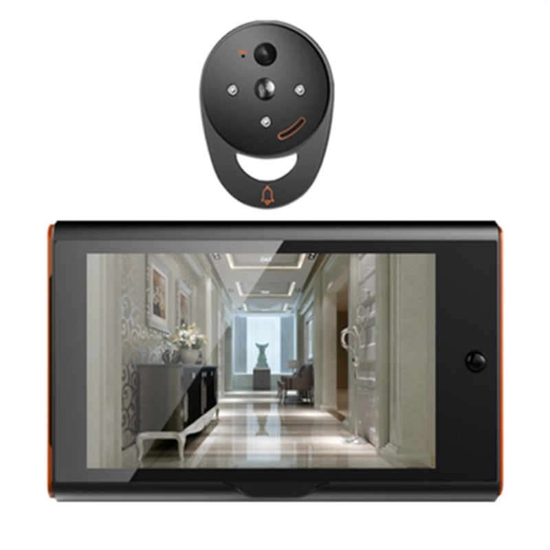 7 Inch Wireless Digital Peephole Viewer Home Security Smart Video Doorbell Pir Motion Detection&Recording 170 Degrees Angle