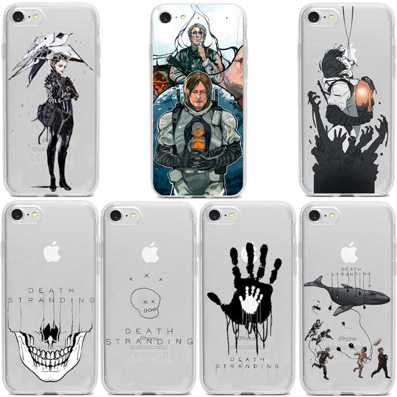 Death Stranding phone accessories Silicone TPU Suave Macio para iphone 5 6 7 8 Plus X XR XS max 11 11pro 11promax Fundas Coque image