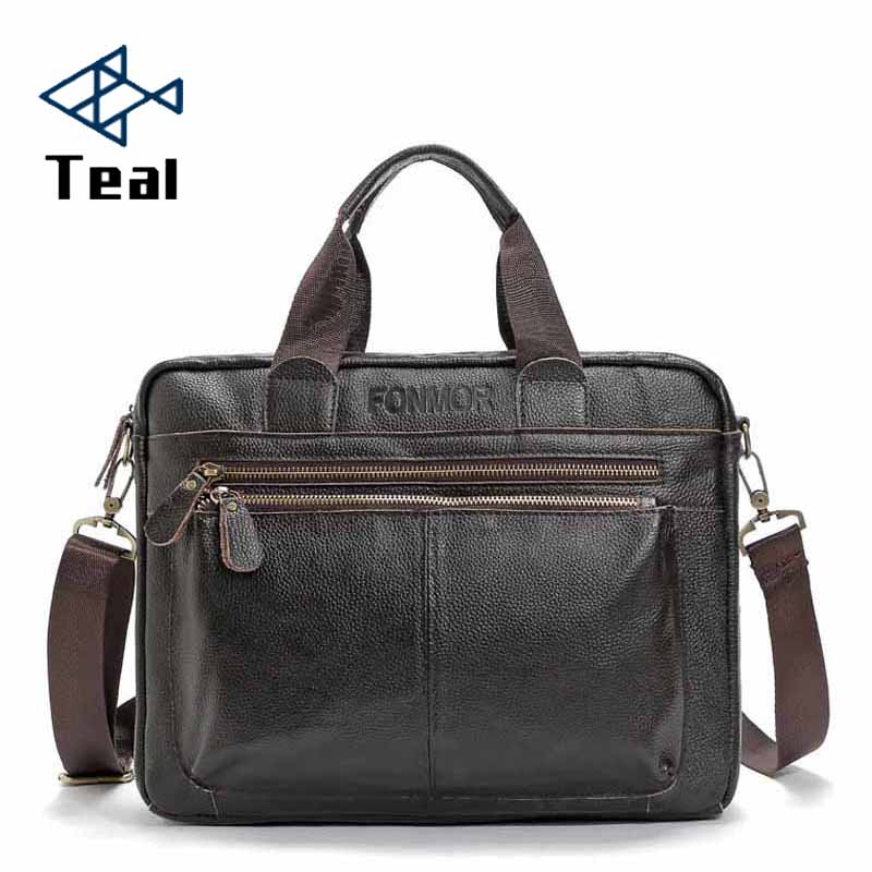 Men Bag Business Tote Briefcases Men Laptop Bags For Men Brand Handbags Pu Leather Messenger Bag Multi-functional Large Capacity