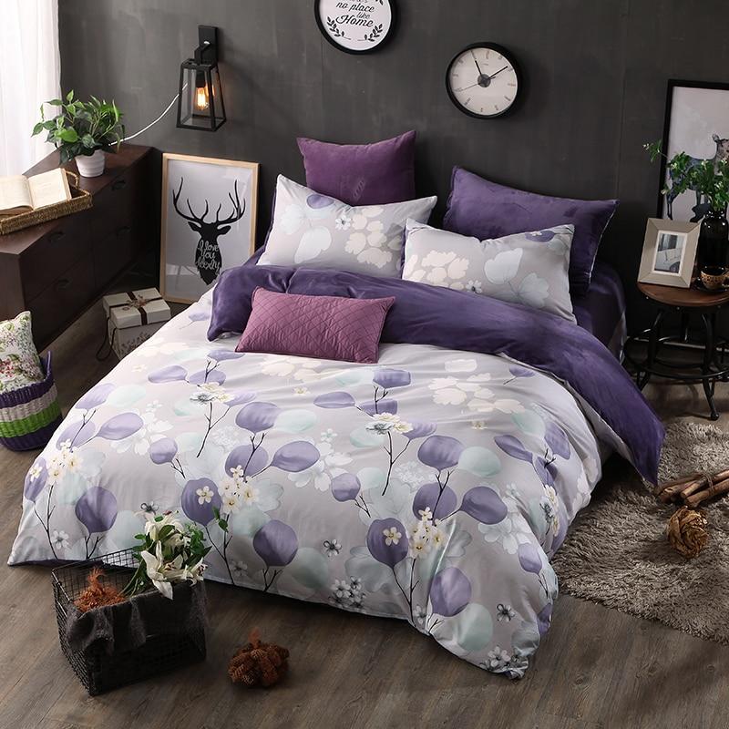 Popular Purple Velvet Comforter-Buy Cheap Purple Velvet