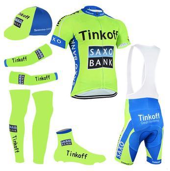 Tinkoff Verão Grande Conjunto 2019 MTB Bicicleta Roupas de Corrida De Bicicleta Roupas de Ciclismo Ropa ciclismo Maillot Ciclismo Uniforme Jersey Conjuntos