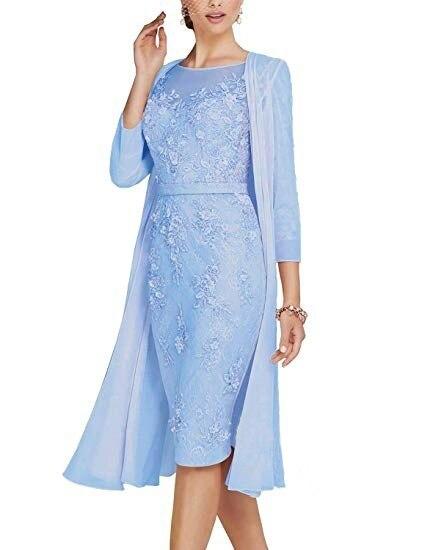 Summer Autumn Dress Women 19 Casual Plus Size Slim Office Bodycon Dresses Sexy Elegant Hollow Out Lace Party Dress Cloak Set 8