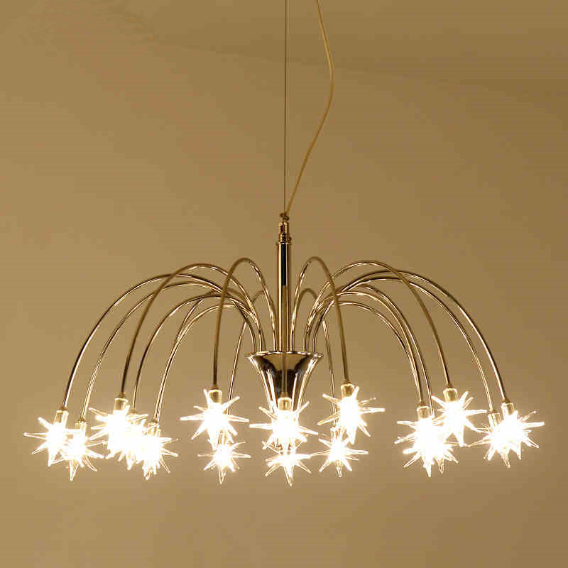 Nordic meteor shower chandelier Creative personality LED Pendant Lamp Living room Hanging Lamp Lustres Lighting Fittting