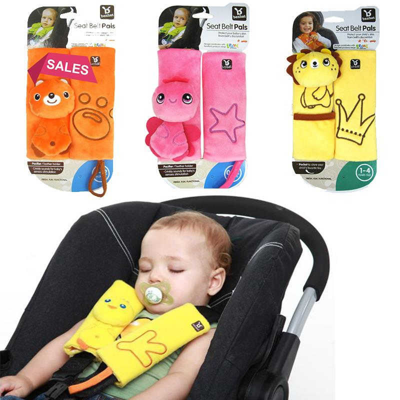 Hot sale Baby seat belt pals protective sleeve baby car seat stroller safety belt shoulder sleeve anti friction pad for children
