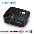 Crenova GP70 LED Proyector 1200 Lúmenes 1080 P Portátil Multimedia de Cine En Casa Juego de Video Juego con HDMI VGA USB AUDIO enchufe
