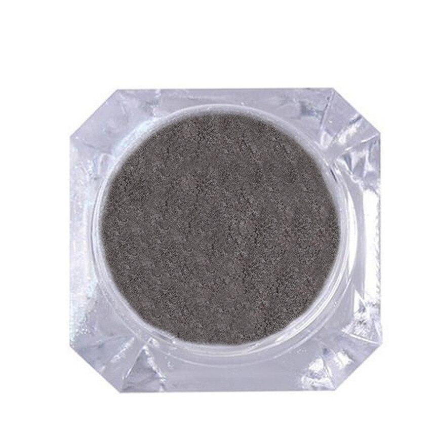 Зеркало Лаки для ногтей Покрытие серебряной пасты металла Цвет гель Нержавеющаясталь DIY oc20