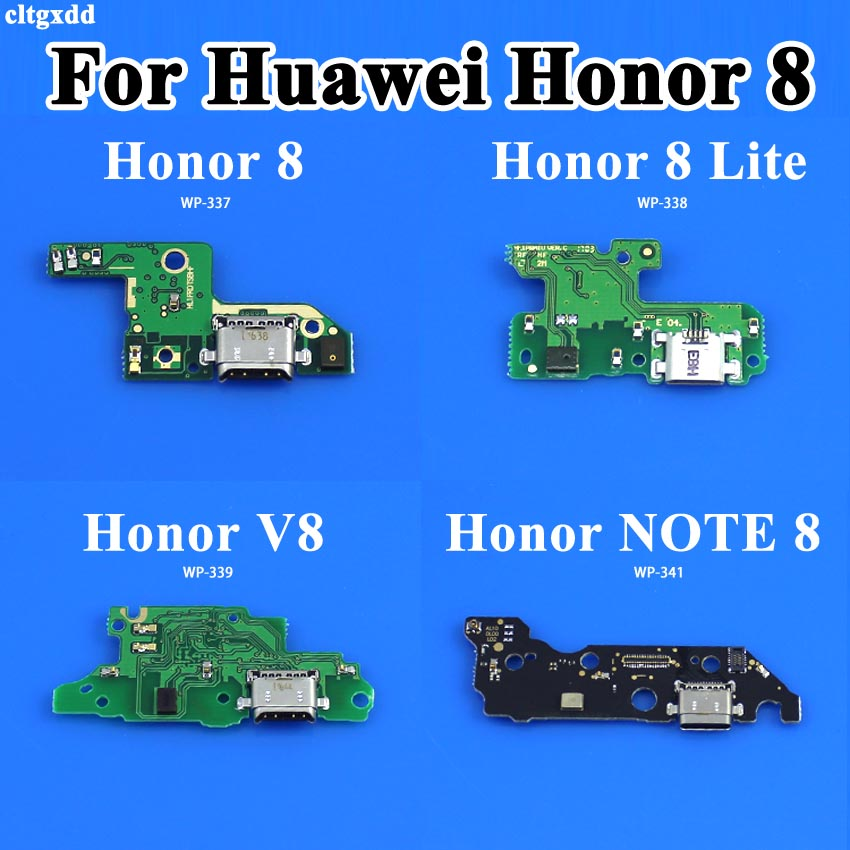 USB Charging Port Dock Plug Socket Jack Connector Charge <font><b>Board</b></font> Flex Cable With Microphone For Huawei Honor <font><b>8</b></font> Lite V8 <font><b>NOTE</b></font> <font><b>8</b></font> image