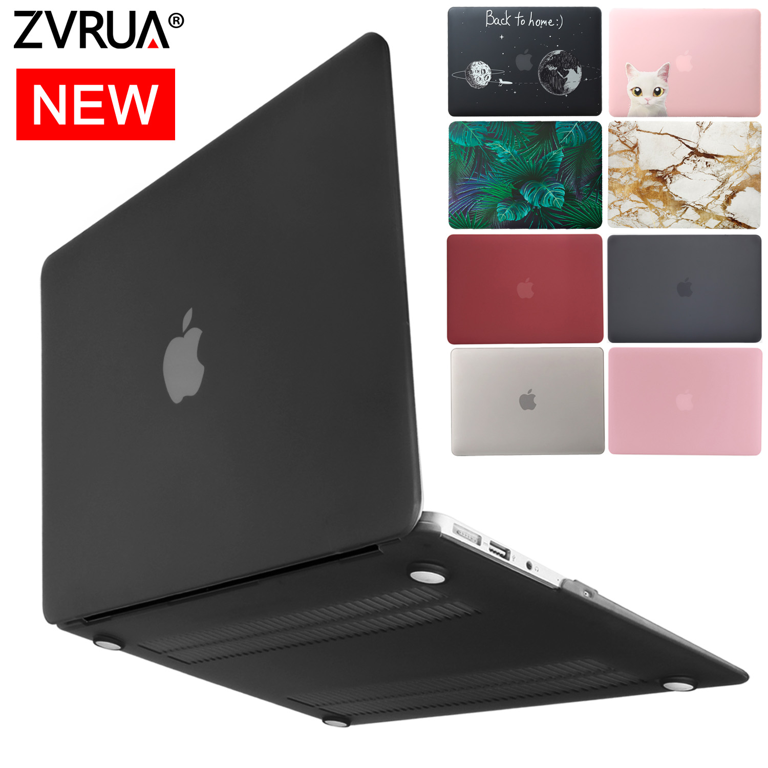 "Key 4 in1 BLK Crystal Clear Case for Macbook Air Pro 13/"" 15/'/' iTouch Bag LCD"