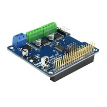 1PC New Arrival Full Function Robot Expansion Board Support Stepper Motor Servo For Raspberry Pi 3B /2B / B+