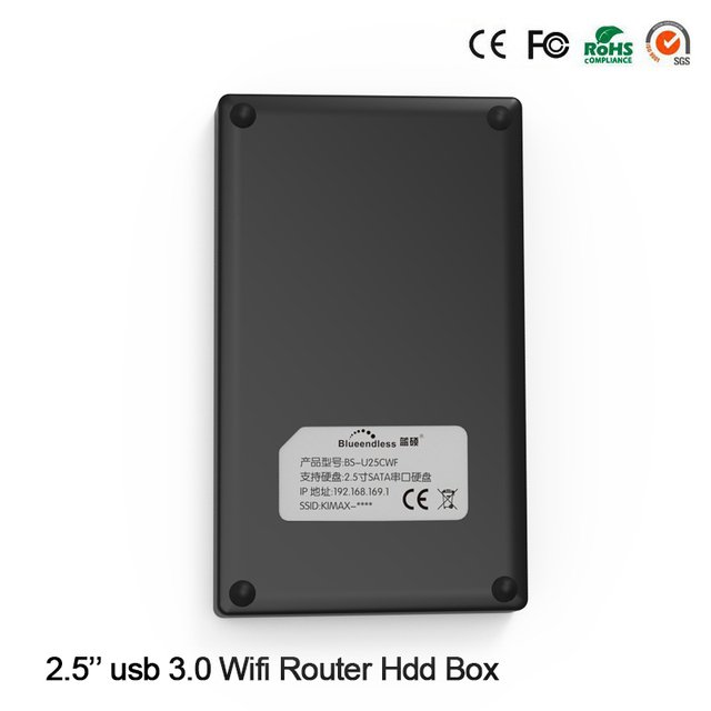 "1 PC Plastic 64G SSD 2.5"" Hard Disk Drive Case Free Shipping USB 3.0 to Sata Enclosure for SSD Reading (64G SSD Included)"