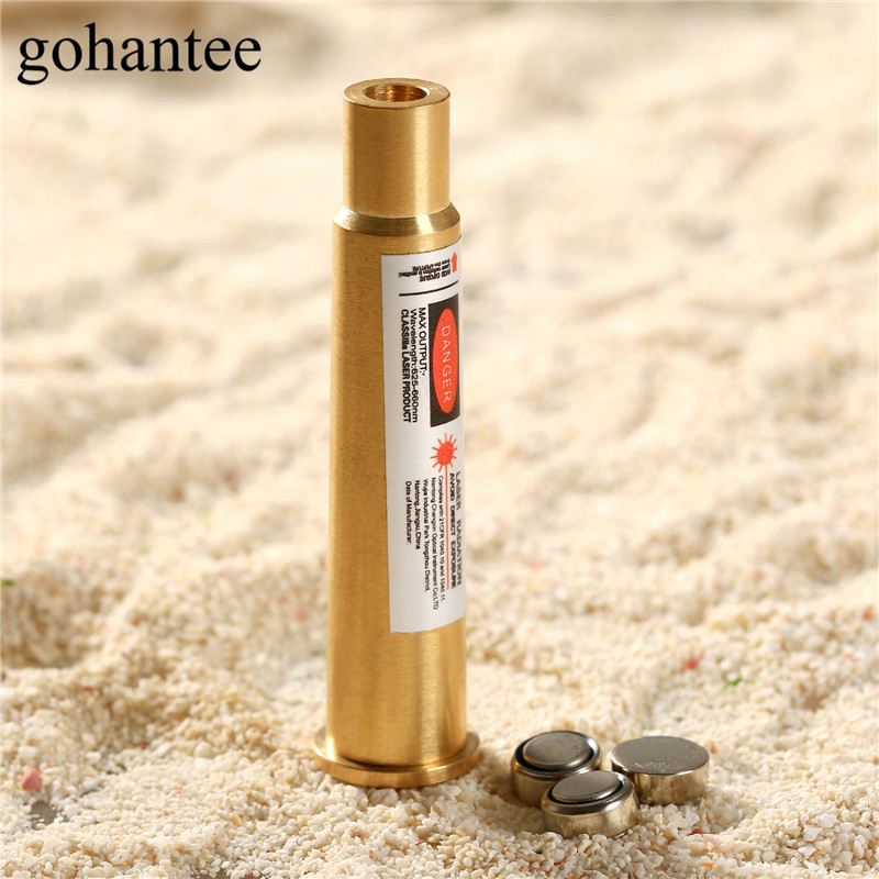 gohantee Hunting Boresighter 303BR Cartridge Laser Bore Sighter Sight 303 BR Red Dot Laser Boresighter for Rifles Scope Lasers