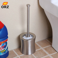 Double Thick Stainless Steel Repair Waist Type Toilet Brush Set