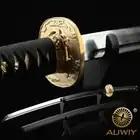 ¿Patrón especial T10 bien de artesanías de metal? Estéreo con cortador de pescado en Japón. Katana, las películas de ninja muestran espada real.
