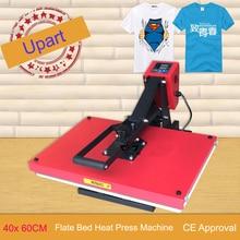 Термопресс es 16×24 дюймов футболка теплопередающий пресс 2400 Вт Ткань термопресс машина