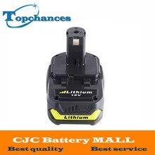 18V 2500mAh Li-Ion Rechargeable Battery For Ryobi RB18L25 One Plus for P103 P104 P105 P108 18v 2500mah li ion replacement battery for ryobi rb18l25 one plus for p103 p104 p105 p108 with p117 12 18v charger