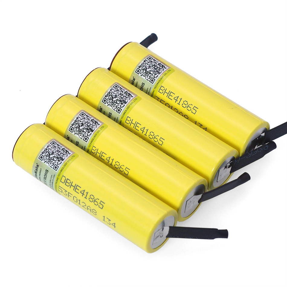 Image 4 - Liitokala Lii HE4 2500mAh Li lon Battery 18650 3.7V Power Rechargeable batteries Max 20A discharge +DIY Nickel sheet-in Replacement Batteries from Consumer Electronics