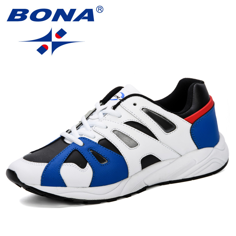 BONA Men s Running Shoes Increasing Male Jogging Homme Sports Casual Walking Brand Sneakers Shoes Outdoor