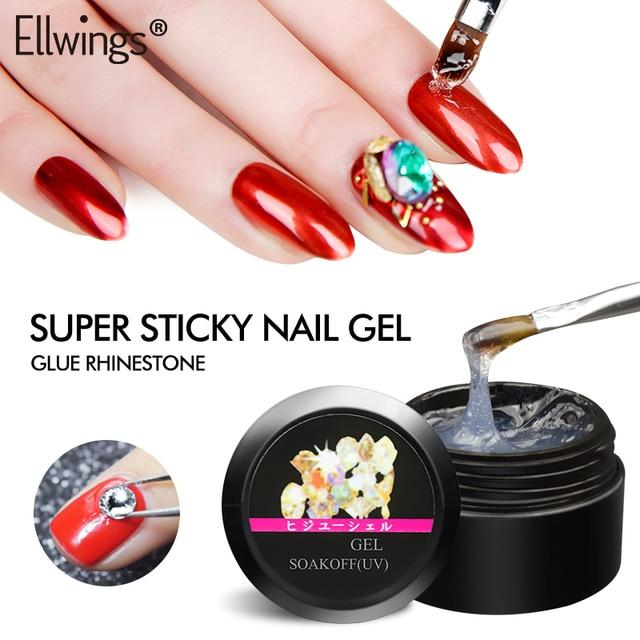 Ellwings Rhinestone Glue Adhesive Gel Varnish Use for Nail Art ...