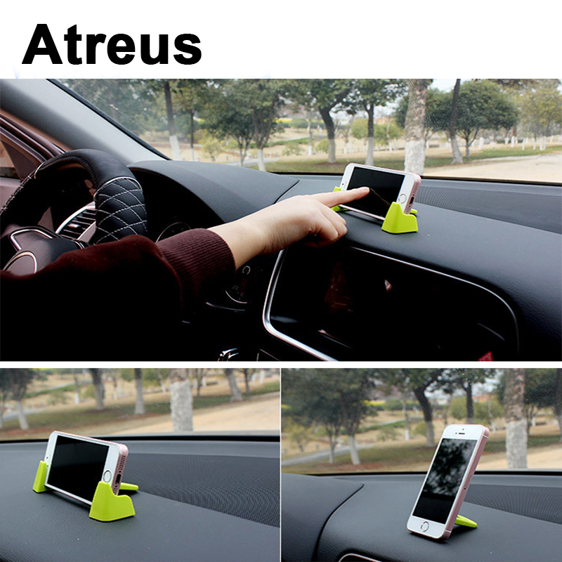 Atreus 3pcs Dashboard Car Mobile Phone GPS Holder Bracket Kit For VW polo passat b5 b6 Mazda 3 6 cx-5 Toyota corolla Ford focus mobile phone