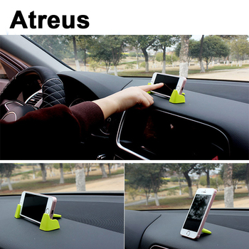 Atreus 3pcs Dashboard Car Mobile Phone GPS Holder Bracket Kit For VW polo passat b5 b6 Mazda 3 6 cx-5 Toyota corolla Ford focus image