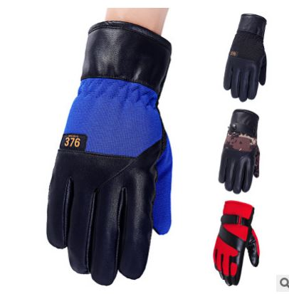 GLV810 The new touch screen man winter font b gloves b font thickening outdoor sports bicycling