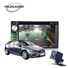 ТВ/DVD Функция 2 din dvd-плеер автомобиля 6,5 дюймов Bluetooth hands-free вызова сенсорный экран удаленного Управление USB /AUX in
