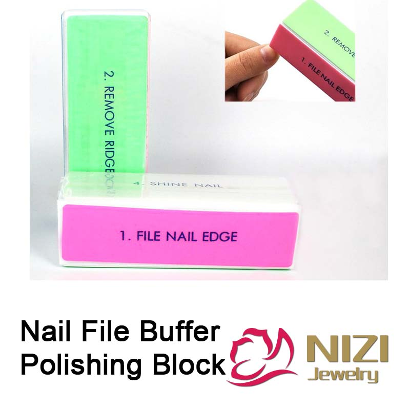 27df172d773 Detail Feedback Questions about Nail File Buffer 4 Sides 2pcs Nail Art  Files Buffer Square 9cmx3cmx2.5cm Polishing Block Manicure Nail Art DIY  Tool High ...