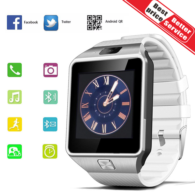 52dcef054dc Bluetooth Smart Watch Smartwatch DZ09 Android Phone Call Relogio 2G GSM SIM  TF Card Camera for iPhone Samsung HUAWEI PK GT08 A1