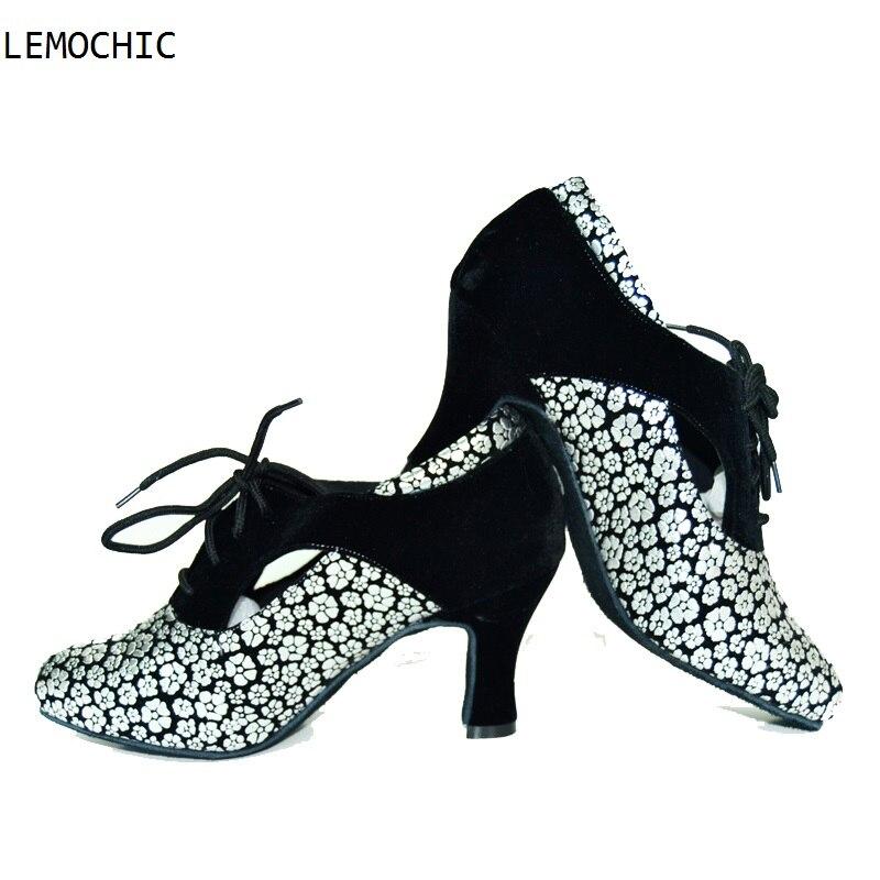 LEMOCHIC rumba latin tango party arena samba ballroom cha cha dance sneakers modest dancing shoes best seller2017 ladies girls
