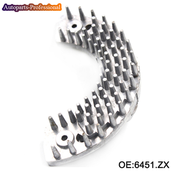 Nuevo regulador de ventilador de Motor de ventilador de calefactor 6451.ZX para Peugeot 206 307, Hatchback, SW, Citroen, Xsara Picasso 6451ZX 6451, ZX