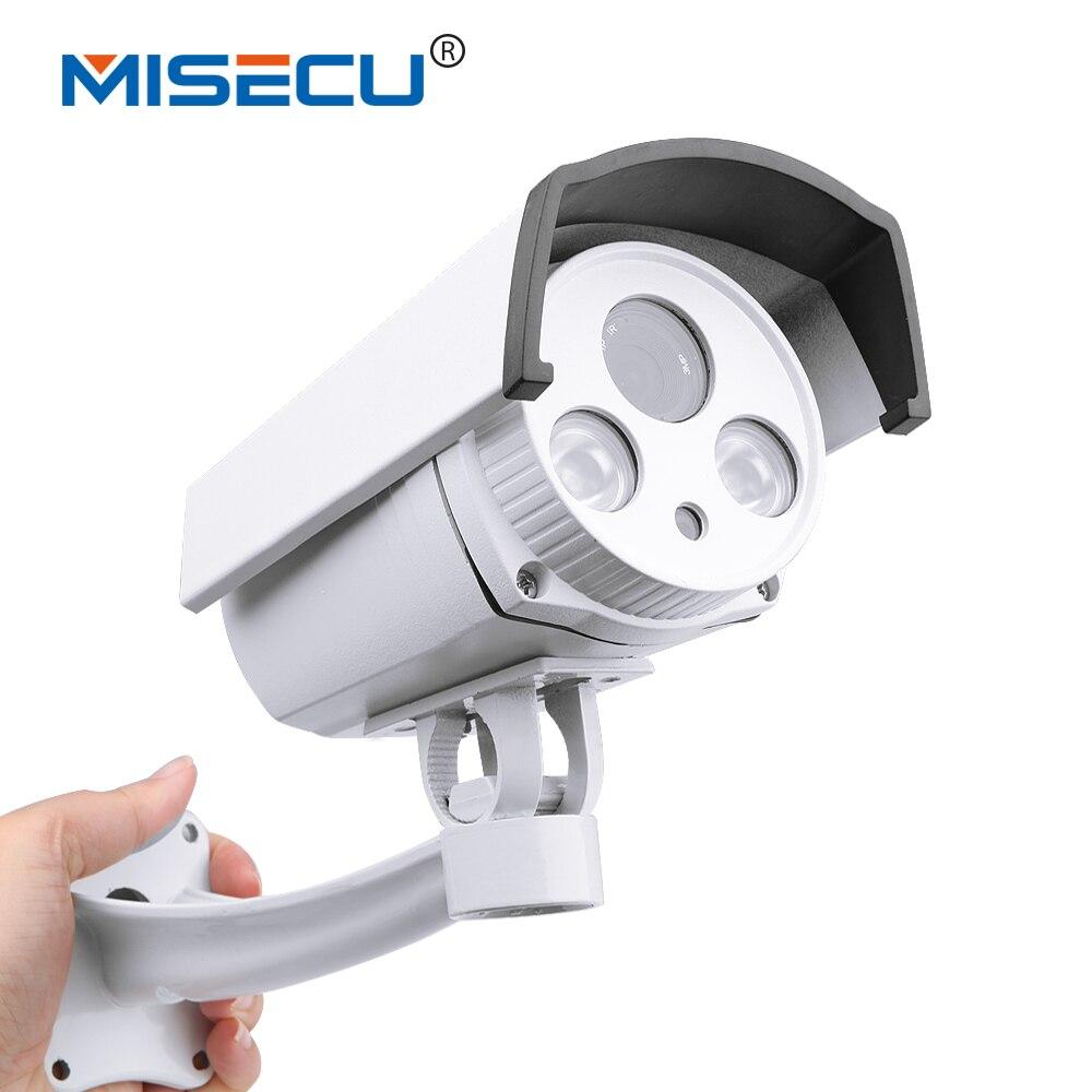 ФОТО Auto Zoom lens 2.8-12mm 1.3MP IP 48V POE Array camera HD Onvif P2P NIght Vision Waterproof Camera IR Camera cctv home security
