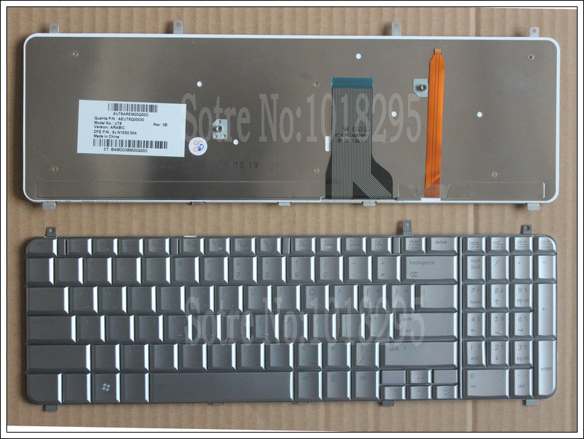 New Arabic Keyboard For HP Pavilion HDX16 X16 X16T X16-1100 X16-1200 UT6 AR laptop Frame With Backlit AEUT6Q00030