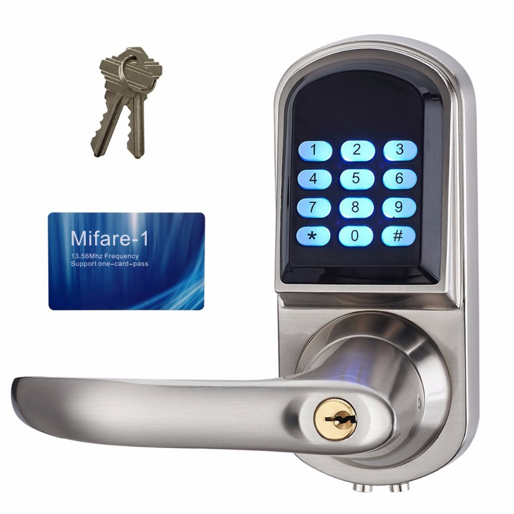 Smart Lock Electronic Keyless Code Door Lock Unlock With