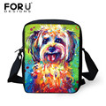 FORUDESIGNS 2017 Mini School Bag for Kids,Cute Dog Printing Small Children Boys Book Bags,Animal Kawaii baby Girl School Bags