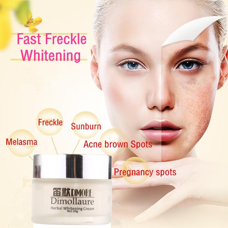 Dimollaure Crema blanqueadora de efecto fuerte 20 g Eliminar Freckle - Cuidado de la piel - foto 5