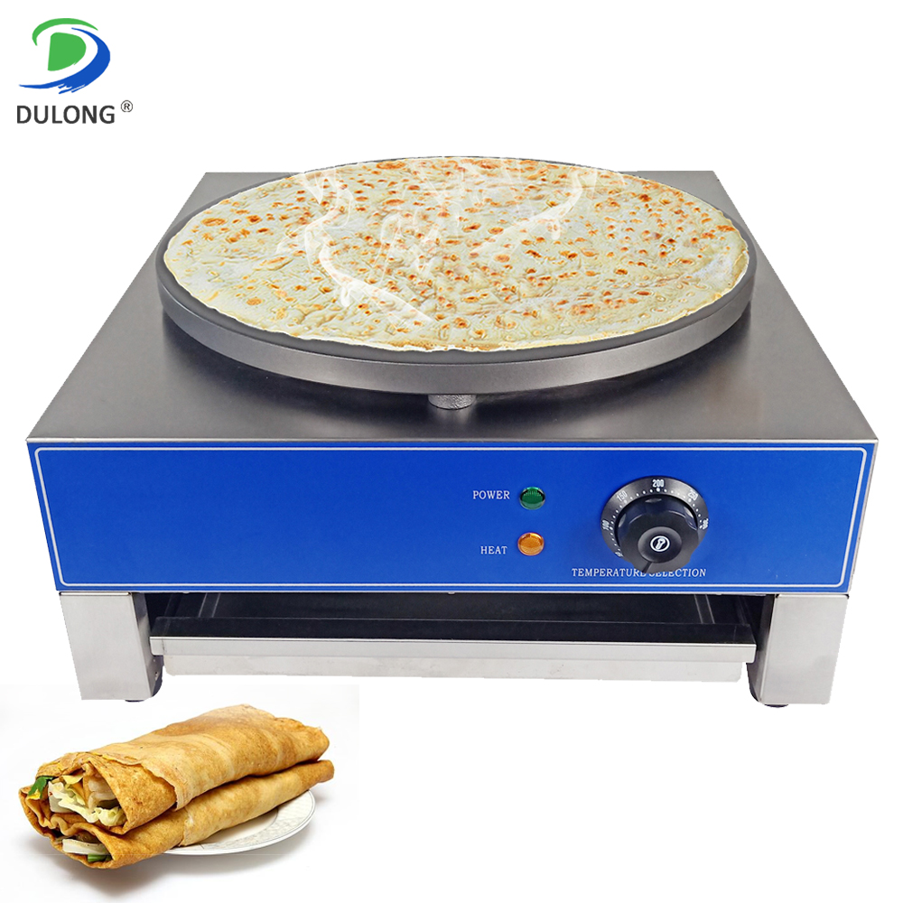 DULONG Home Kitchen Use Multifunctional Electric Crepe Maker Commercial Machine for Pancake Pizza JianbingGuozi Frying EggsDULONG Home Kitchen Use Multifunctional Electric Crepe Maker Commercial Machine for Pancake Pizza JianbingGuozi Frying Eggs