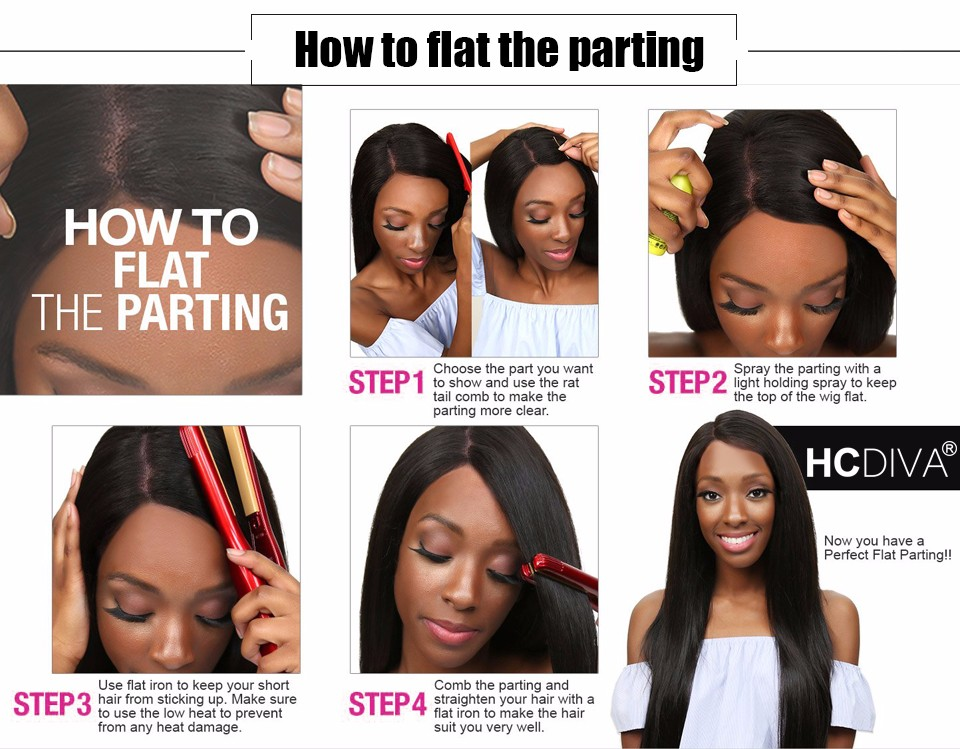 How to flat the parting