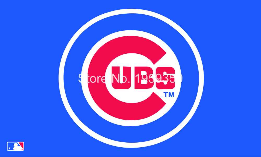Free Shipping Mlb 3x5 Chicago Cubs Flag 90x150cm Chicago Cubs