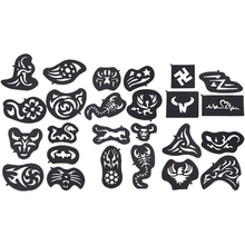 buy hair tattoo stencils and get free shipping on aliexpress com rh aliexpress com hair tattoo design pictures hair tattoo design for boy
