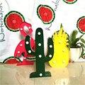 LED 3D Flamingo Cactus Abacaxi Lâmpada Romântico a Luz da Noite Luz Lâmpada de Mesa Lâmpada Marquise LED Nightlight Natal Home Decor