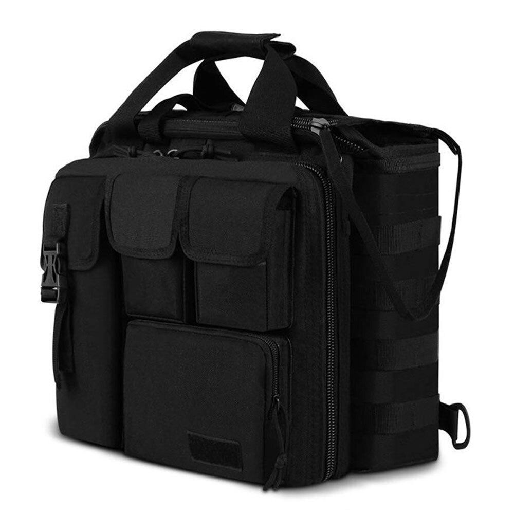 Multifunction Military Men Messenger Bag Outdoor Shoulder Bag Tactical Briefcase Computer Shoulder Laptop Handbag for Camping