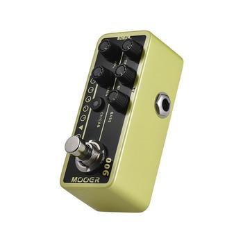 MOOER mikro przedwzmacniacz serii 006 US Classic Deluxe amerykański Blues Combo cyfrowy przedwzmacniacz gitara pedał efektów True Bypass