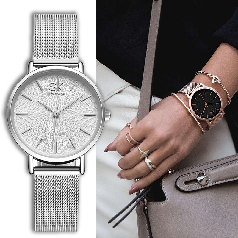 2017 New Women Watches Luxury Fashion Quartz Ladies Watch Brand Lover Clock Female Dress Quartz Wristwatches