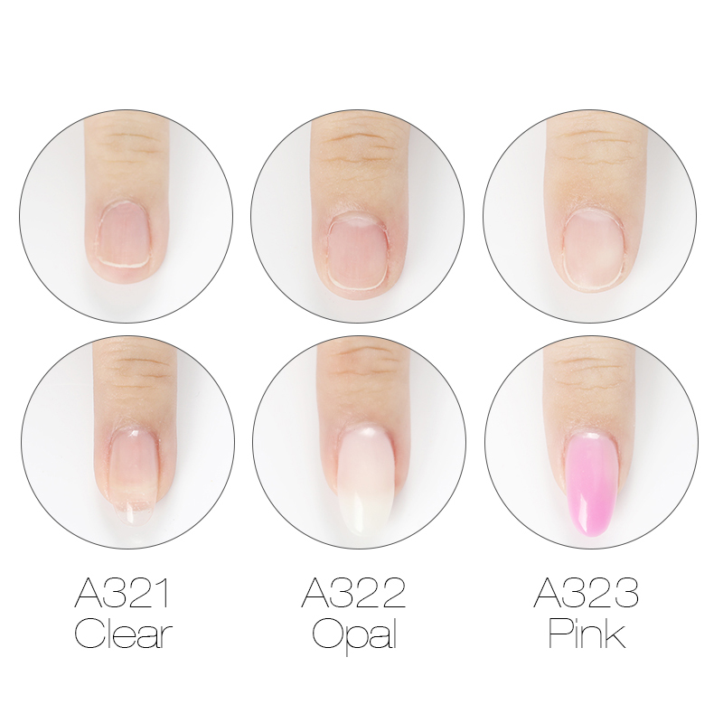 Image 2 - ROSALIND Poly gel Nail Polish 10ml Hybrid Semi Permanent UV Nails Art Poly builder Set Gel Varnish polish Gel For Nail Extension-in Nail Gel from Beauty & Health